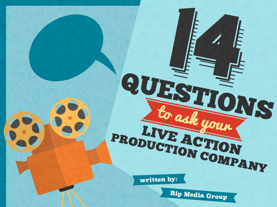 14 Questions to ask your Live Action Production Company